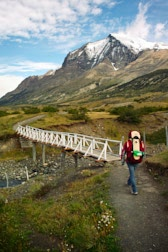 Chile: 29. Photo: Wandern mit Krimskrams huckepack