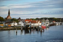 Hiddensee: 8. Photo: Abfahrt in Schaprode