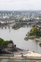 Koblenz: 1. Photo: Deutsches Eck