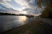 Pillnitz: 5. Photo: An der Elbe
